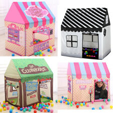 Portable Folding Play Houses Prince Princess Castle Toys Tents Childs Room Plays