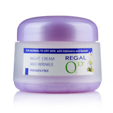REGAL Q10+ NIGHT CREAM ANTI WRINKLE WITH BAOBAB'S OIL AND EDELWEISS 50 ml.