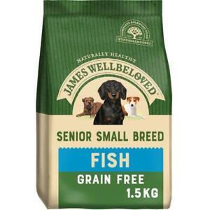 James Wellbeloved Complete Dry Senior SB Grain Free - Fish - 1.5KG