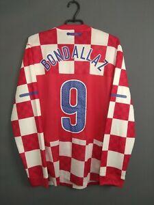Bondallaz Croatia Jersey Player Issue Size XL Long Sleeve Shirt Nike ig93