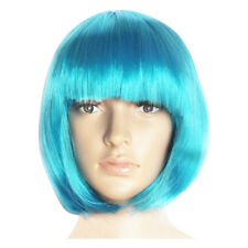 14 Colors Unisex Synthetic Short Straight fiber Bob Hair Wigs Party Costume