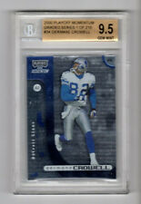 2000 Playoff Momentum Germane Crowell Graded Series BGS 9.5 GEM MINT Lions WR!