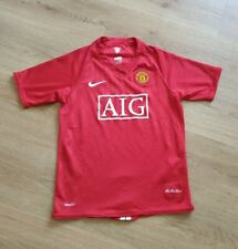 BOY'S MANCHESTER UNITED SHIRT SIZE AGE 12-13 YRS