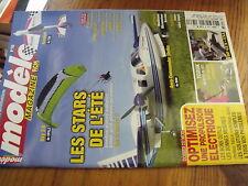 µµ Modele Magazine RCM n°766 Oxy 3.0 Creer Cokpit Propulsion electrique P-38