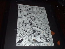 CONAN THE BARBARIAN #1 ORIGINAL COVER ART / JOHN BUSCEMA VERY RARE RECREATION