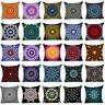 Polyester Bohemian mandala throw pillows case sofa Car cushion cover Home Decor