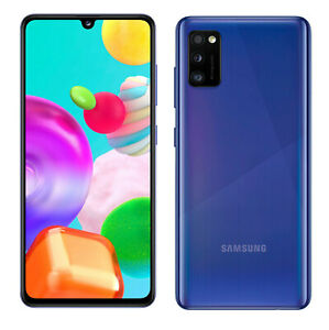 Samsung Galaxy A41 En Bleu Téléphone Mannequin Attrappe Exposition Accessoires