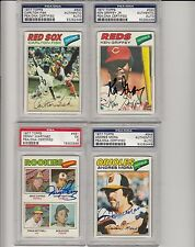 1977 Topps signed Andres Mora signed card PSA DNA Certified