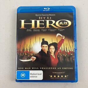 Hero (2002, Dir. Yi-Mou Zhang) Blu-Ray Jet Li Like New + Free Postage