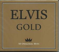 Elvis Presley - Gold - 50 Original Best Of / Greatest Hits 2CD NEW/SEALED