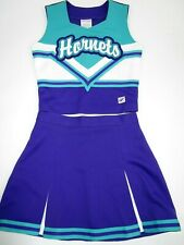 "Hornets Cheerleader Uniform Outfit Child Costume 30"" Top Elastic Waist Skirt"