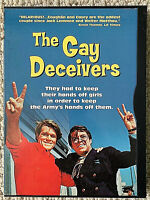 THE GAY DECEIVERS (USA R1 DVD 2000) AUTHENTIC RARE OOP NEAR-MINT!!
