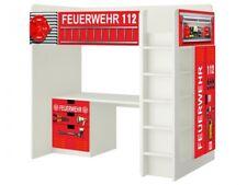 Feuerwehr Möbelsticker / Aufkleber für STUVA Hochbett Kombi von IKEA - SH01