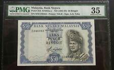 MALAYSIA 4TH RM50 B/89 346383 PMG35 VF