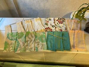 Dolls House Handmade Curtains Lot 1.12
