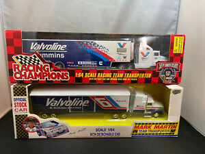 Road Champs Racing Champions Mark Martin Tractor Truck w Trailer Diecast Lot
