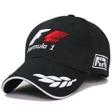 NEW Word Championship Formula 1 Embroidery Baseball Cap Hat Racing F1 Black