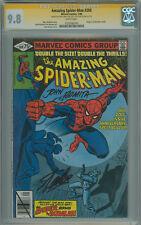 Amazing Spider-Man #200 CGC 2x SS 9.8 Stan lee and John Romita Sr. origin retold