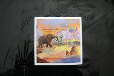 Tanzania Prehistoric animals mammoth souvenir sheet block MNH 1991