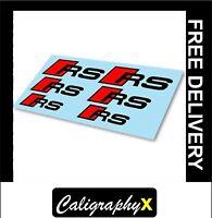 6 x OPEL SRI Pinza Freno Decalcomanie High Temp migliore qualità di selezionare le dimensioni.