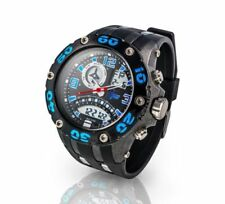 Schwarze Armbanduhren mit Acrylglas