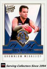2015 Select AFL Honours S2 Brownlow Gallery Card BG88 Greg Williams (Carlton)