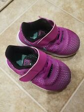 Nike Flex Contact Infant/Toddler Girls Pink/purple Shoes--size 5 C