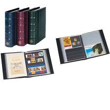 314054 Leuchtturm Postkartenalbum mit 50 Hüllen für 100 Ansichtskarten, blau