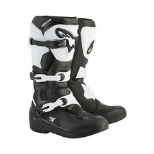 Alpinestars White Black Tech 3 Men's Size 8 Off Road MX Boots 2013018-12-8