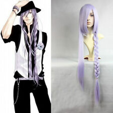 Anime Kamui Gakupo Light Purple Long Braid Cosplay Wig+FREE WIGS CAP