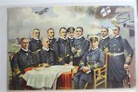 AK Deutschland Unsere Seehelden Feldpost 1915 gebraucht #PG756