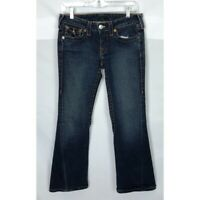 True Religion Joey Twisted Seam Flare Jeans Size 28