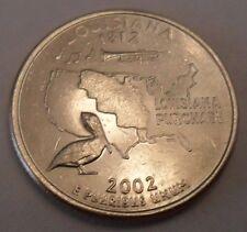 2002 D Louisiana State Quarter  **FREE SHIPPING**