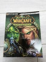 World Of Warcraft WOW BURNING CRUSADE BRADYGAMES STRATEGY GUIDE BOOK PC Gaming