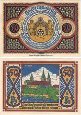 Alemania 50 Pfennig 1921 Osnabruck NOTGELD UNC Uncirculated banknote