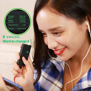 Mobile Phone Computer Sound Card Portable Mini Voice Changer Converter Device