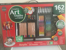 Daler Rowley Art Studio with Easel 162 piece painting kit