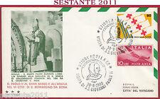 ITALIA FDC TRE STELLE GIOVANNI PAOLO II GRAN SASSO 1980 L'AQUILA Y853