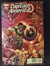 Marvel Captain America: Sam Wilson, Vol. 1 # 21 (1st Print) Connecting Variant