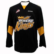 Brandon Wheat Kings WHL Premier Edge Away Jersey Large