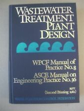Wastewater Treatment Plant Design Book
