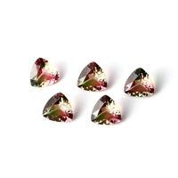 10*10 MM 2.63 Ct Triangle Loose Gemstones Tourmaline Accessories Wholesale Lot