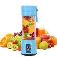 Mini USB Rechargeable Electric Fruit Juicer Smoothie Maker Blender Machine