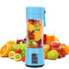 Mini USB Rechargeable Electric Fruit Juicer Smoothie Maker Blender Machine
