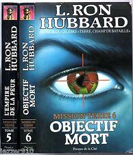 RON HUBBARD - MISSION TERRE tome 5 & 6 - EO presses cité