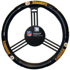 Pittsburgh Steelers Steering Wheel Cover Massage Grip