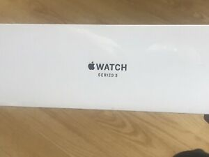 Apple Watch Series 3, 42mm Case Space Gray Aluminum, Sport Band Black
