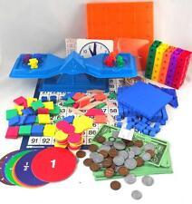 Math Manipulatives Kit SAXON BJU CALVERT Homeschool Math Grades K-6 Complete NEW