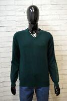 Maglione Uomo Jeckerson Taglia S Pullover Sweater Cardigan Lana Pullover Verde