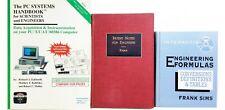 3 Vintage Computer Engineering Books Engineering Formulas Conversions Definition